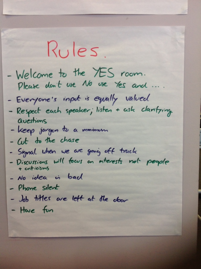 Workshop rules